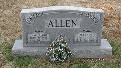 Mary Virginia <i>Lawrence</i> Allen