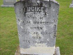 Lucinda <i>Morton</i> Burden