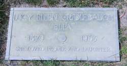 Lucy Ellen Ella <i>Boyer</i> Cridlebaugh