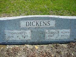 Emma Helen <i>Rosson</i> Dickens