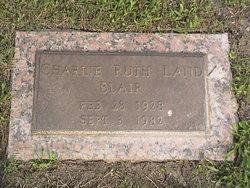 Charlie Ruth <i>Land</i> Blair