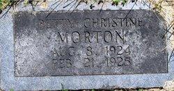 Betty Christine Morton