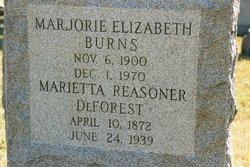 Marjorie Elizabeth Burns