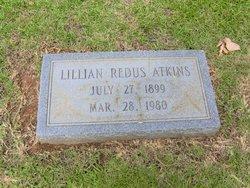 Lillian <i>Redus</i> Atkins