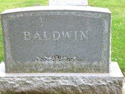 Mary Emma <i>Pinkerton</i> Baldwin