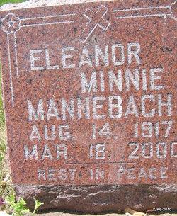 Eleanor Minnie <i>Billmann</i> Mannebach