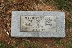Marjory <i>Ellis</i> Cole