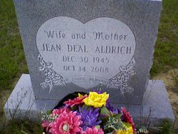 Bedford Jean <i>Deal</i> Aldrich