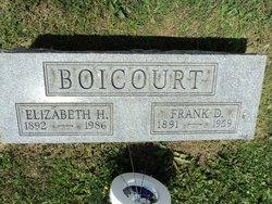 Elizabeth L <i>Harrell</i> Boicourt