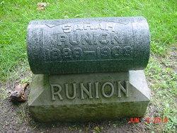 Sarah Ann <i>Hines</i> Runion