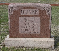 Annie A. <i>Dickey</i> Oliver