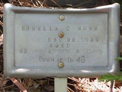 Rosella C. <i>Harmon</i> Hoss