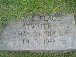 Elizabeth Louise <i>Blagg</i> Atwater