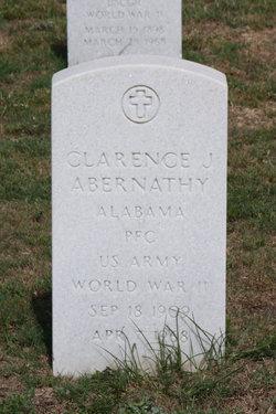 Clarence J Abernathy