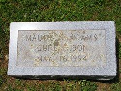 Maude <i>Nicewander</i> Adams