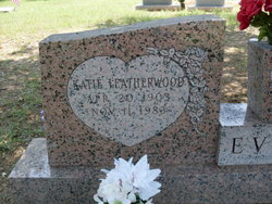Jessie Katie <i>Leatherwood</i> Evans