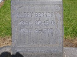 Harry Becker