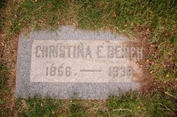 Christina <i>Ericksen</i> Bench