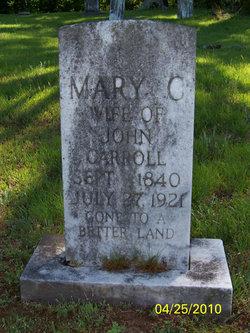 Mary C. <i>Lancaster</i> Carroll