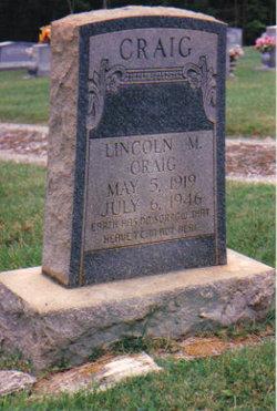 Lincoln M Craig