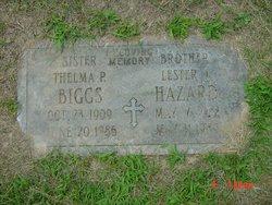 Thelma P. <i>Hazard</i> Biggs