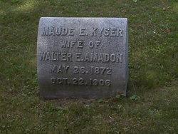 Maude E. <i>Kyser</i> Amadon