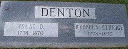 Rebecca <i>Etheridge</i> Denton