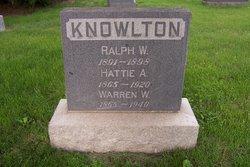 Warren W Knowlton