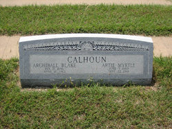 Artie Myrtle Calhoun