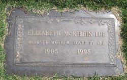 Elizabeth <i>McKibbon</i> Lee
