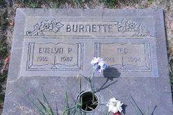 Evelyn P <i>Cridlebaugh</i> Burnette