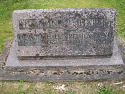 Frances A <i>Bevens</i> Holman