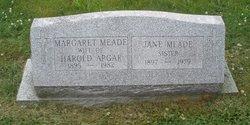 Margaret <i>Meade</i> Apgar
