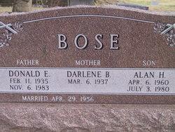 Donald E Bose