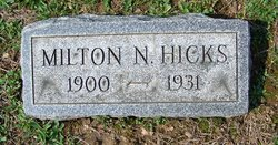 Milton N Hicks