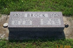 Orpha Horton Brock