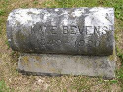 E Kate <i>Shelton</i> Bevens