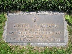 Austin F Abrams