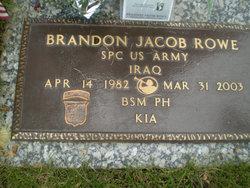 Spec Brandon Jacob Rowe