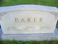 Charlotte Geraldine <i>Wade</i> Baker