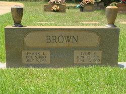 Ivor B. <i>Peterson</i> Brown