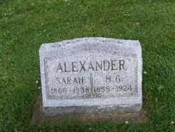 H. G. Alexander