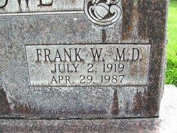 Frank W Crowe M.D.