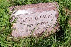 Clyde D Capps