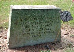 Lieut John Downey Benedict