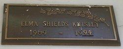 Elma Frances <i>Shields</i> Knisley