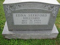 Edna Mae <i>Seekford</i> Hilliard