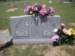 Lydia Elizabeth <i>Epperson</i> Syrus