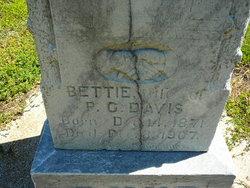 Bettie Ann <i>Vaughan</i> Davis