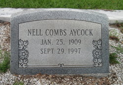 Annie D Nell <i>Combs</i> Aycock